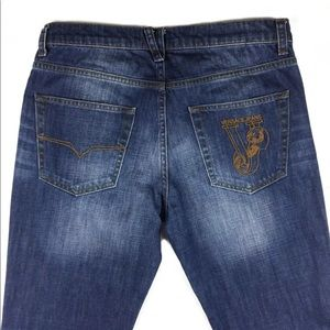 Versace men's jeans in size 33